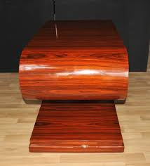 S Shaped Coffee Table Art Deco S Shape Coffee Table Rosewood Modernist Furniture