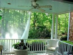 porch mosquito net white patio enclosure netting screen mesh fabric outdoor canopy