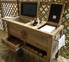 outdoor patio cooler bar wooden rustic kitchen stainless steel outdoor patio cart outdoor patio tea cart