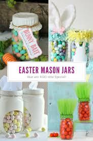 13 Mason Jar Crafts For Easter That Would Make The Easter Bunny Jealous Easy Easter Crafts Easter Mason Jars Easter Crafts