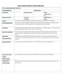 Step By Step Instruction Template Instruction Template Word Ethercard Co