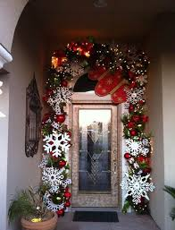 christmas front door decorationsWonderful Christmas Front Door Decorations Ideas  All About Christmas