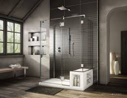 Luxury Showers 60 X 36 Fleurco Acrylic Shower Base With Bench Seat And Matching