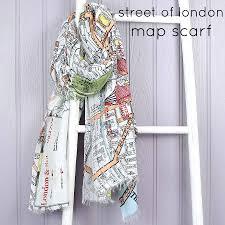 london map scarf by lisa angel  notonthehighstreetcom
