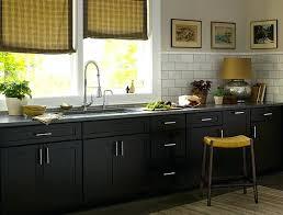 dark wood modern kitchen cabinets. Dark Wood Kitchen Cabinets With White Appliances Black Door Style Contemporary Modern