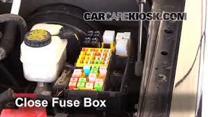replace a fuse 2007 2010 ford explorer sport trac 2008 ford 2007 Ford Explorer Fuse Panel Diagram 6 replace cover secure the cover and test component 2007 ford explorer fuse box diagram