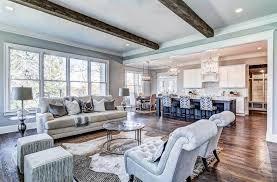 22 open concept living room