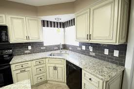custom black kitchen cabinets. Interesting Custom Off White Kitchen Cabinets Custom Black And  Floor Remodel Pictures On S