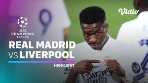 Streaming Highlight - Real Madrid vs Liverpool I UEFA Champions League 2020/ 2021