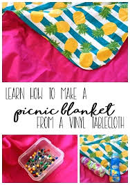 vinyl picnic table cloth vinyl picnic table cloth learn how to sew a picnic blanket from vinyl picnic table cloth