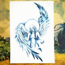 Shnapign Strážný Anděl Dočasné Tetování Na Tělo Umění Rukáv Rameno