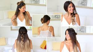Luxy Hair Style 5 super easy 1 minute heatless hairstyles luxy hair youtube 8695 by wearticles.com