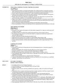 Corporate Resume Sample Corporate Banker Resume Samples Velvet Jobs 2