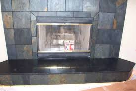 slate fireplace tile this slate fireplace has beautiful earth tone slate tiles installing tile over slate slate fireplace tile