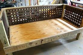 Wooden outdoor daybed White Outdoor Diy Daybed Plans Awesome Wooden Daybed Plans And Outdoor Daybed Myhobbyclub Diy Daybed Plans Awesome Wooden Daybed Plans And Outdoor Daybed