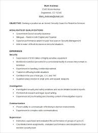 Resume Templates Samples