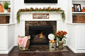 our family room last week for fall but i wanted to make one last little project to complete the look a little fall diy wood sign for our fireplace