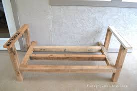 funky wood furniture. How I Built The Pallet Wood Sofa (part 2) Via Funky Junk Interiors Furniture