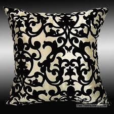2 Beige Taffeta Bed Sofa Pillow Case Cushion Covers 17 Outdoor