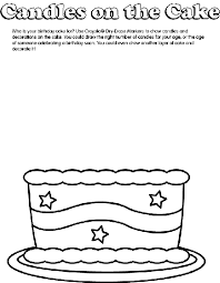 Small Picture Birthday Cake Coloring Page crayolacom