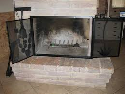 our fireplace screens can be free standing or built in our fireplace doors can be screen only or screen glass combo