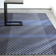 blue indoor outdoor rug crate and barrel best material for recycled plastic rugs australia