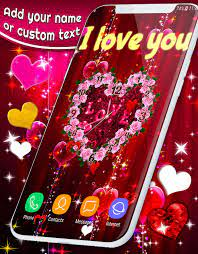 Love Clock Wallpapers ❤️ Hearts 4K Live ...