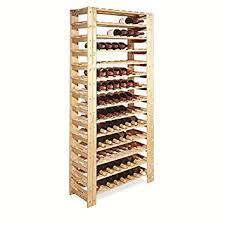 standing wine rack. Swedish 126 Bottle Wine Rack - Unstained Standing