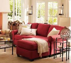 Living Room With Red Sofa Living Room With Sectional Red Sofa Ideas To Accessorizing Your