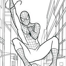 Spiderman To Color Dcwq Info
