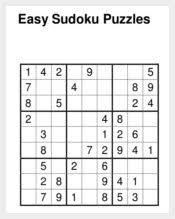 8 Sudoku Templates Free Sample Example Format Free Premium