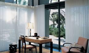 glass door window treatments luminette