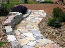 Step Stone Walkway Stone Garden Paths Stepping Stone Paths Paths And Home  Improvement Step Stone Pathways