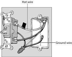 how to replace a light switch dummies electrical switch wiring in series two or three wires will be attached to the switch an incoming hot wire, which is black; a return wire, which carries the load to the fixture and may be