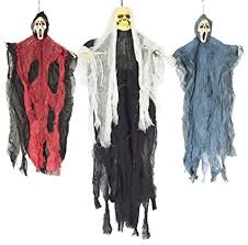 JOYIN Set of Three <b>Hanging Skeleton Ghost Halloween</b> Decorations