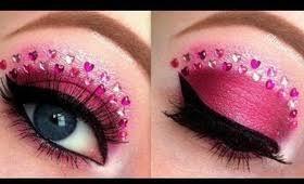 valentine day makeup tutorial flirty pink valentines