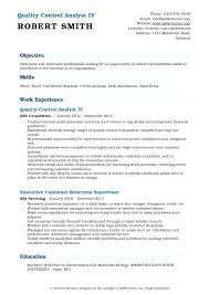 Quality Control Analyst Resume Project Control Engineer Resume Unique Quality Assurance Analyst Resume