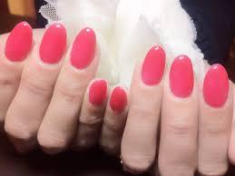ネイルサロンmagiqueマジーク高多瑠美ブログ 春ネイル ワンカラー 2015