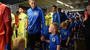 PO1 Club-AA Gent 21/5/2017 : spelers verlaten tunnel - YouTube