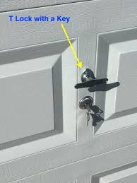 how to open garage door manually from outside with key how to open garage door manually