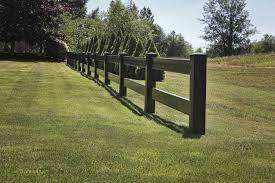 brown vinyl horse fence. Wood Vinyl Horse Fencing Brown Fence F