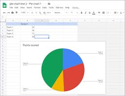 T Chart Google Docs How To Put Pie Chart In Google Docs And 9 Ways To Customize It