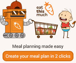 personal diet planner the automatic meal planner eat this much