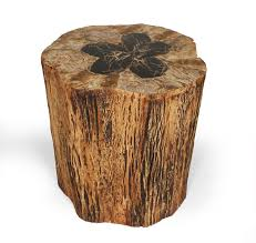 gallery of brown round rustic lacquered wood trunk coffee table ideas for wooden australia living room arrang