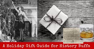 holiday gift guide for history buffs