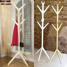 For Living Coat Rack Cheap Coat Rack Style Wooden Tree Fork Coat Racks Living Room 96