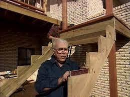 how to add stairs to your deck how