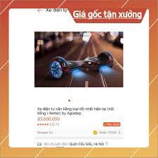 HOT ] Các loại Xe điện cân bằng cao cấp tốt nhất thị trường - Hàng nhà giàu  VIP của Agiadep.com ( NHẬP KHẨU + SỈ IB )