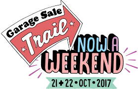 A Weekend - Garage Sale Trail ...