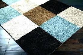 teal and chocolate rug area rugs brown blue intended for plan architecture brown and